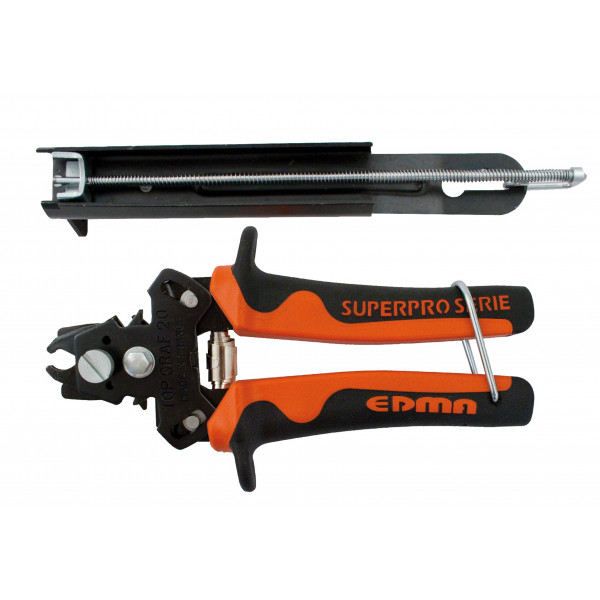 TOP GRAFER 20/22 - Hand hog ring pliers with magazine