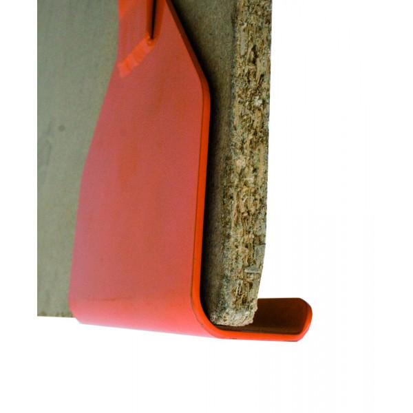 EDMA TRANSPLAC - Poignée en acier pour transport de plaque