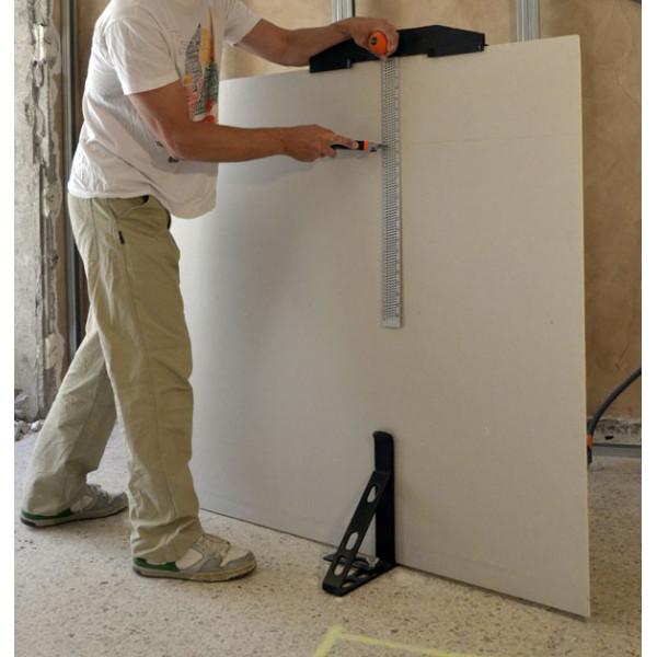 r gle d couper la plaque de pl tre edma. Black Bedroom Furniture Sets. Home Design Ideas