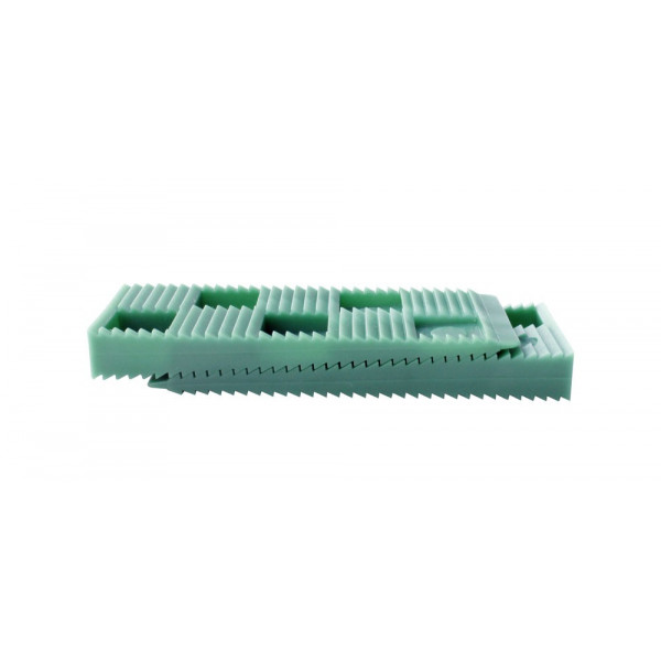 30 PCS GREEN WEDGES SET - 80 x 30 x 10 mm