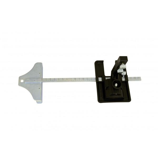 Gehrungsanschlag 210 mm für Styroporschneider