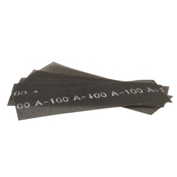 10 FEUILLES DE TREILLIS ABRASIF 290 x 100 MM - Grain 240