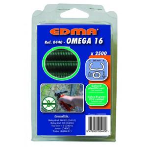 GRAPAS OMEGA 16 - Galva verde - 2500 uds.
