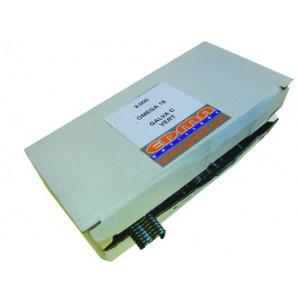 OMEGA 18 STAPLES - Galva green PVC coated - 3000 pcs