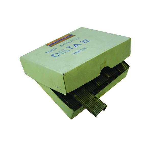 AGRAFES DELTA 22 - Inox AISI 316 - 1000 pcs