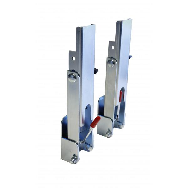 CLIN FIX® - Set de 2 accessoires de pose de bardage à recouvrement