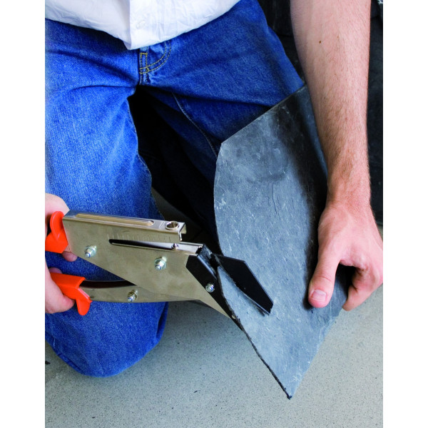 MAT - Pince à découper et poinçonner l'ardoise, lame 35 mm