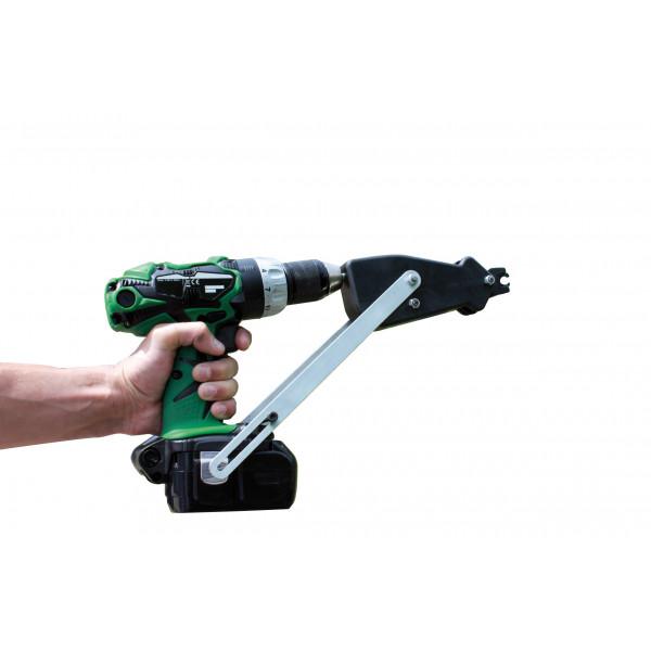 POWER GRAFER - Agrafeuse automatique pour OMEGA 20 et DELTA 22 adaptable sur visseuse/perceuse
