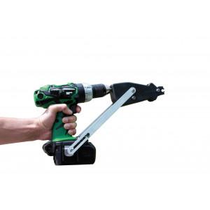 POWER GRAFER - Автоматический степлер, насадка на дрель для скоб OMEGA 20 и DELTA 22.