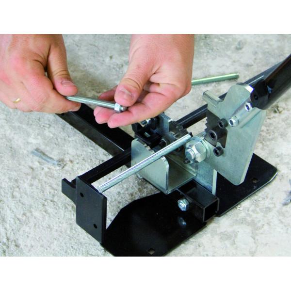 MINI RODCUT M8 - Ø 4, 6, 8 mm rod cutting guillotine