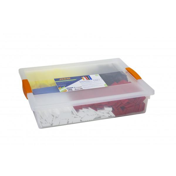 400 PCS FLAT SHIMS PROBOX - 5 x 80 wedges