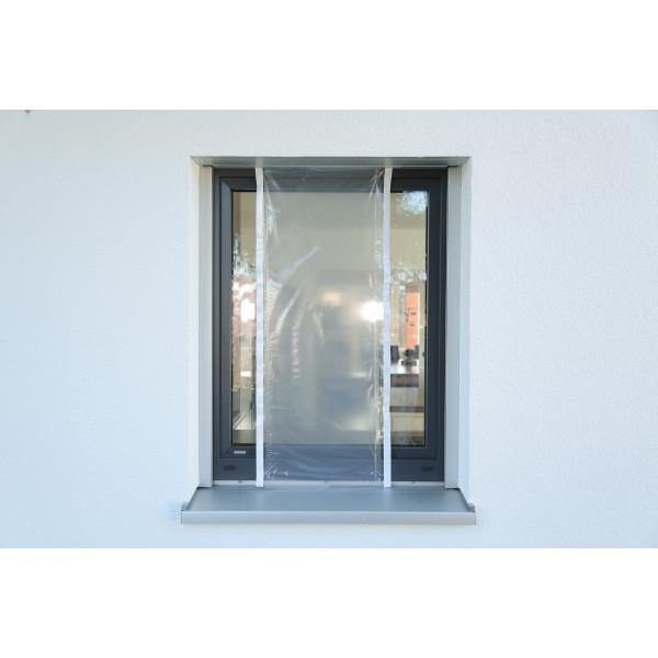 COVERSMART 160 - Film de protection ajustable 160 cm adhésif intégré