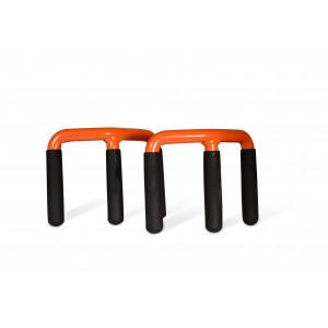 EDMA DUOPLAC - Set de 2 transporteurs de plaques à griffes