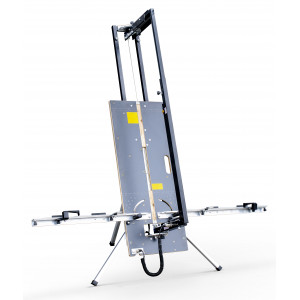 FOLDABLE HOT WIRE CUTTING TABLE - For styrofoam panel, especially for E.T.I.C.S. applications