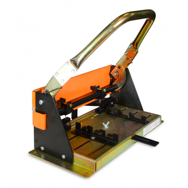 MECA-MAT - Slate punching press with double adjustable perforing
