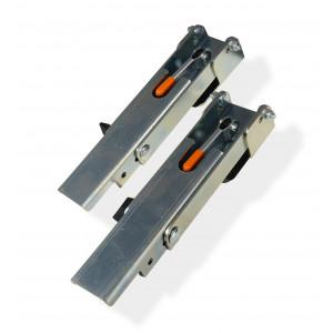 EDMA CLIN FIX® - Set de 2 accessoires de pose de bardage à recouvrement