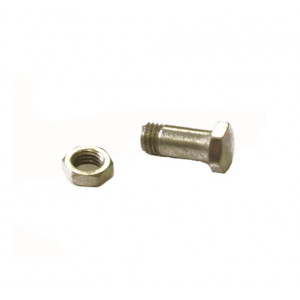 KNIFE SHAFT AND NUT FOR NIBBLER SHEARS