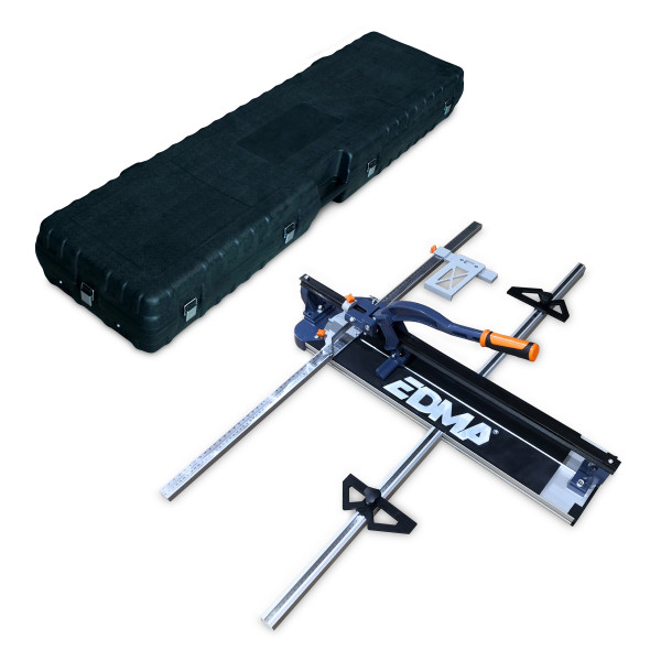 EDMATILE IN CARRYING CASE (XL) - Monorail tile cutter - 1350 mm