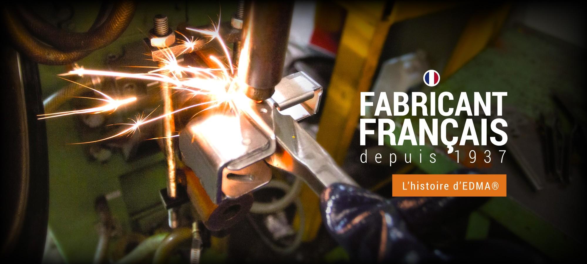 Fabricant français depuis 1937